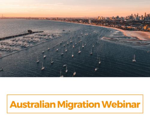 Australian Migration Webinar