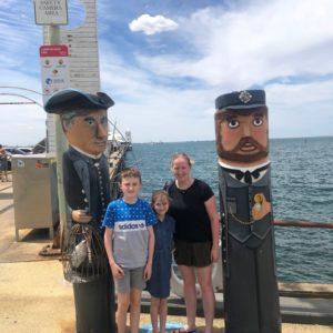 Carlton family in Australia